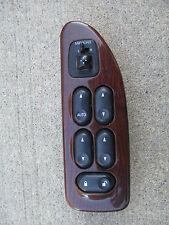 01 - 03 FORD WINDSTAR DRIVER LEFT SIDE MASTER POWER WINDOW SWITCH WOOD GRAIN