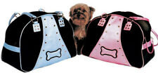 PINK BONE-JOVI PET CARRIER / DEFECTIVE HANDLES  - UP TO 10 LBS. - 50% OFF