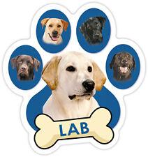 LABRADOR DOG PAW Car Magnet  QUALITY