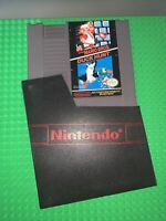 Nintendo NES Super Mario Bros. Duck Hunt Cart And Sleeve