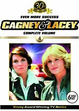 USED 4DVD SET-  CAGNEY & LACEY - EVEN MORE SUCCESS - Tyne Daly , Sharon Gless