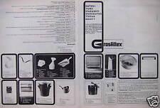 PUBLICITÉ 1964 GROSFILLEX ARTICLES DE LA MAISON - ADVERTISING