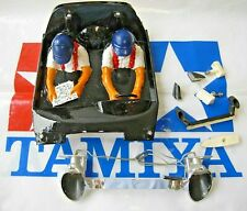 Used 1/12 Tamiya Porsche 959 Front Head Light Unit + Driver Compartment