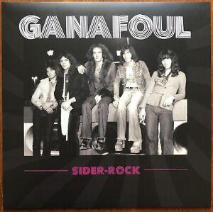 GANAFOUL Sider rock 2020 Inédits 1975 Glam hard Blues Lyon Neuf Vinyle Couleur