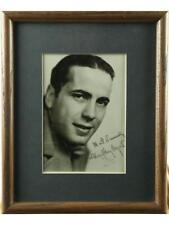 Humphrey Bogart Framed Signed Photo Lot 112
