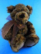 """Very soft and Cuddly 10"""" Teddy Benson Jr Plush by Gund Excellent"""