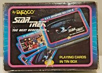 Vtg Star Trek TNG Playing Cards by Enesco - Next Generation - Sealed Cards! 1992