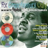 FOR CONNOISSEURS ONLY VOLUME 3 Various NEW & SEALED NORTHERN SOUL CD (KENT) R&B