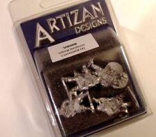 Artizan Designs - VIK008 - VIKING HIRDMEN COMMAND - SAGA & Dark Age War Games