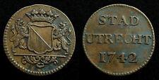Netherlands / Utrecht - Duit 1742 ~ CNM 2.44.21