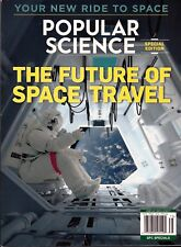 POPULAR SCIENCE SPECIAL - THE FUTURE OF SPACE TRAVEL (2017) FREE SHIP