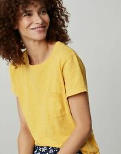 Joules Womens Sofi Pocket T-Shirt - Yellow