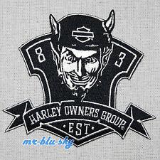 Rebel Logo Patch ~ Harley Davidson Owners Group HOG  H.O.G.
