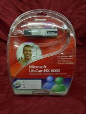 Microsoft LifeCam NX-6000 Webcam 1 Touch Blogging Built In Microphone Notebook
