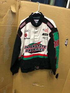 NWT Chase Authentics Drivers Line Bobby Labonte Interstate Batteries NASCAR Coat