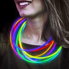 "Lumistick 22"" Glow Stick Necklaces, 50 Non-Toxic & Kids Safe Light Up Neckwear"