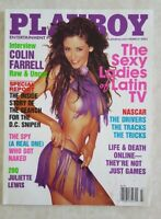 PLAYBOY MENS MAGAZINE MARCH 2003 PENNELOPE JIMENEZ LADIES OF LATIN TV NASCAR