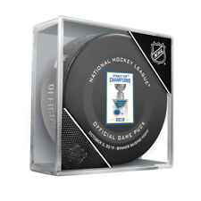 2019 ST LOUIS BLUES Banner Raising Night Official Game Puck