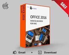 Office 2016 Home & Business für Mac Aktivierungspaket | Original Key +Link Email