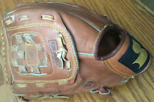 """SSK Dimple 11 Baseball Glove SBG-70 Brown Leather Left Hand Throw 12"""""""""""