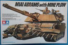 TAMIYA M1A1 Abrams with Mine Plow Nr.: 35158 1:35