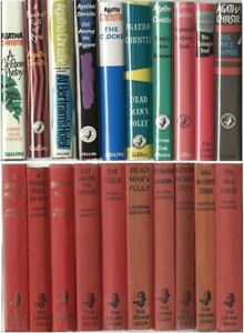 Agatha Christie Ten x First Editions w/fdj´s Collins Crime Club See list