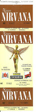 RARE / TICKET BILLET DE CONCERT - NIRVANA : LIVE A GRENOBLE ( FRANCE ) 1994