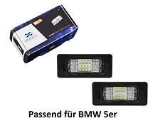 Premium LED Kennzeichenbeleuchtung für BMW 5er E39 E60 E61 F10 F11 F07 KB18