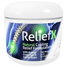 ReliefX 4oz. Pain Relief Cream with Arnica - By Naturo Sciences
