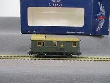 Liliput H0 L235000 Güterwagen Gepäckwagen Pwg bad 21 Baden 15335 Ep.I in OVP