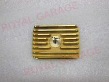 NEW ROYAL ENFIELD VINTAGE FLANGED BRASS TAPPET COVER STANDARD MODELS fit to avl
