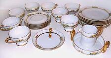 Art Deco Hutschenreuther Porcelain Tea Cup Saucer Plate LOT 22 - Selb Bavaria