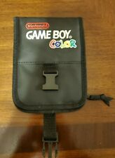 Vintage Nintendo Gameboy Color Carrying Case Travel Bag