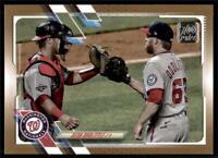 2021 Topps Series 1 Base Gold #17 Sean Doolittle /2021 - Washington Nationals