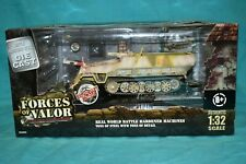 1/32 FORCES OF VALOR WWII GERMAN Sd. Kfz. 251/9 Kanonenwagen Hungary 1945 2 crew