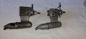 Zwei Motoren für Modellflugzeuge