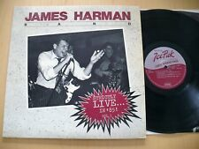 JAMES HARMAN BAND- STRICTLY LIVE IN '85 VOL. 1 ROCK N BLUES HOLLYWOOD FATS MINTY