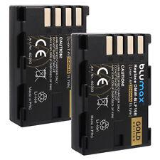 2x Batterie pour Panasonic dmw-blf19e | 60393 | dmc-gh3 gh3a gh3h gh4 gh4a gh4h gh4u