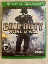 NEW Call Of Duty World At War XBox One & 360 Sealed COD Complete.