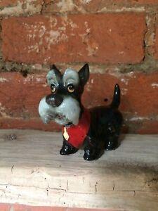 Sweet Vintage Ceramic Scottie Dog 1940/50's