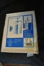 SEARCHLIGHT 7205 32 LED Modern Outdoor Wall Light Satin Silver Finish