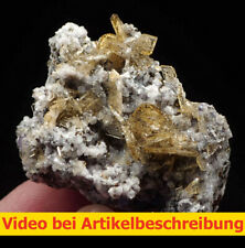 7937 Baryt Sphalerit ca 4,5*4*4 cm Naica Mexico 1987 MOVIE