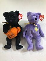 Ty Beanie Babies Bundle of two Eggs 3 2002 and Trickster 2008