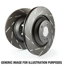 EBC 06-09 Ford Fusion 2.3 USR Slotted Rear Rotors