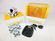 ANKI COZMO Robot Desk Toy w/ Charge Stand + 3 x Cubes - Working - Boxed / VGC