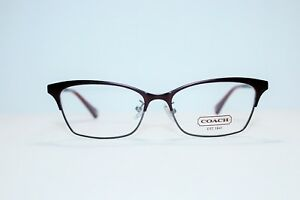 NEW COACH HC5041 9141 TERRY BURGUNDY SILVER AUTHENTIC EYEGLASSES RX 51-15-140 MM