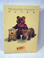 Steiff Teddy Bear Animal Catalog Identification Guide and Steiff Replicas 1995