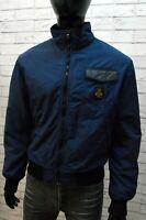 Giubbotto Blu Refrigiwear Giacca da Uomo Taglia L Cappotto Giubbino Jacket Man