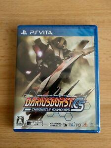 Darius Burst Chronicle Saviours PS Vita Japan New & Factory Sealed