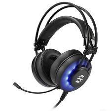 USB Profi Gaming Design LED Headset Gamer Kopfhörer PC Computer für zb Lenovo